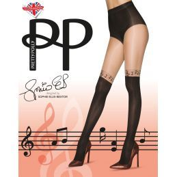 Collants notes de musique Pretty Polly Collants Opaques PP-PNATE4 Lerotika