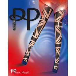Collants British flag Pretty Polly Collants Fantaisies & Résilles PP-PUART9 Lerotika