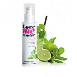 Love Me Tender Mojito 100ML Love to Love Huiles de Massage LTL-01710 Lerotika
