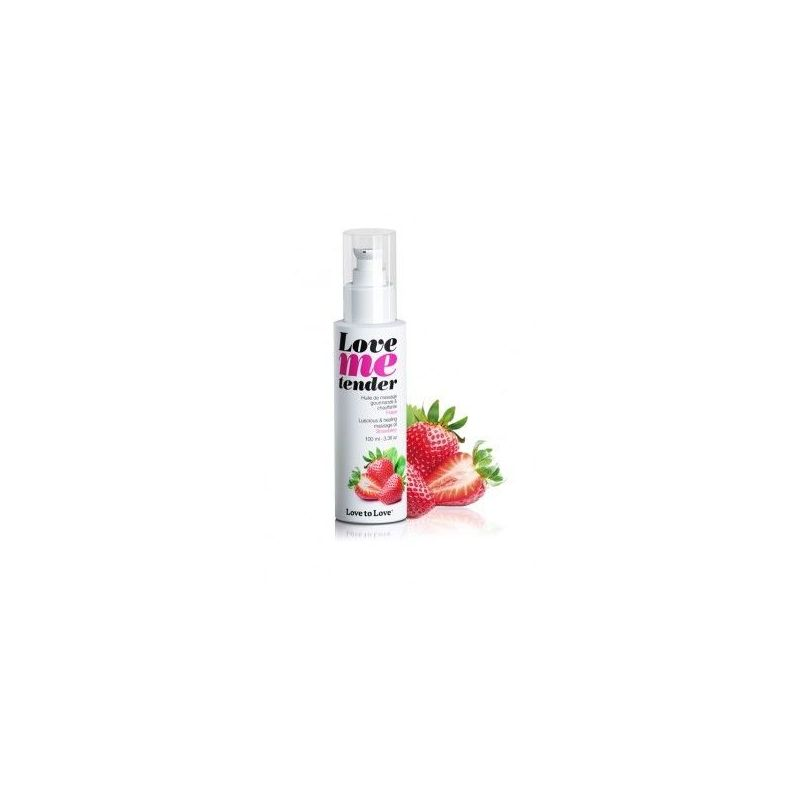Love Me Tender Fraise 100ML Love to Love