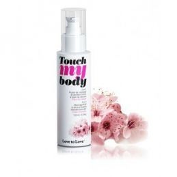 Touch My Body Fleur De Cerisier 100ML Love to Love Huiles de Massage LTL-01702 Lerotika
