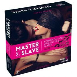 Jeu Master and Slave Premium Kit - Rose Tease and Please