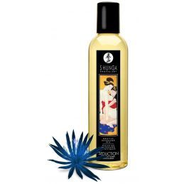 Huile de Massage Seduction Fleur de Minuit - 250 ml Shunga Erotic Art Huiles de Massage 4400319000000 Lerotika