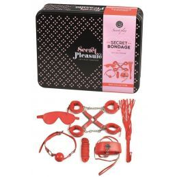 Coffret Secret Bondage Rouge Secret Play Coffrets Fetish 5000630000000 Lerotika