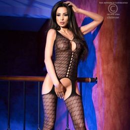 Bodystocking avec motifs Chilirose Bodystocking CR-4057 Lerotika