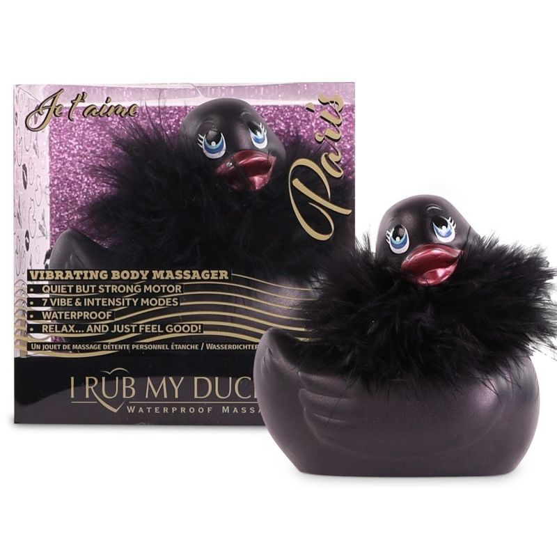 Mini Paris Duckie Noir 2.0 Big Teaze Toys Stimulateurs Canards 1505680000000 Lerotika