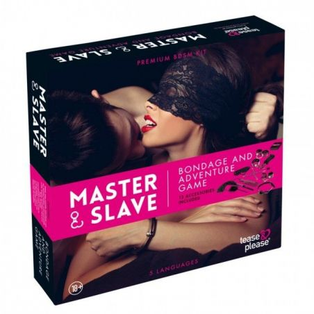 Master and Slave Pink Premium - KIT BDSM Coffrets Fetish TP-5005 Lerotika