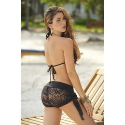 Short black 7713 Mapalé Robes de Plage MAP-02991 Lerotika