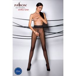 Collant Ouvert Noir TI001 - T 1/2 Collants Passion 3700448000012 Lerotika