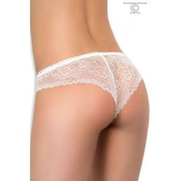 Shorty dentelle blanc Chilirose Shortys CR-3853-B Lerotika