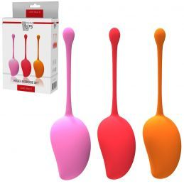 Set de 3 Boules de Geisha Kegel Exercise Dream Toys Coffrets de Sextoys Femmes 1105090000000 Lerotika