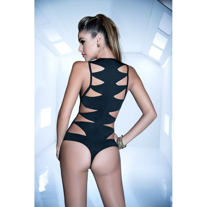 Bodysuit hook black 2472 Mapalé